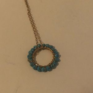 JLynn Jewelry December Birthstone Circle Necklace